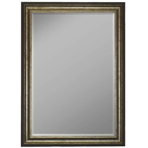 Atlantis Olde Silver Framed Wall Mirror