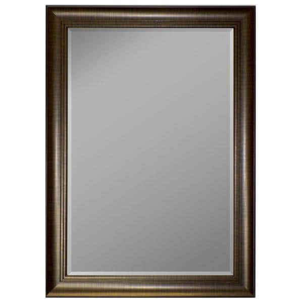 3-step Scratch Copper Framed Wall Mirror