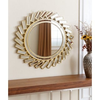 ABBYSON LIVING Galardo Round Wall Mirror