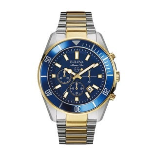 Bulova Men's Marine Star 98B230 Stainless Steel Watch