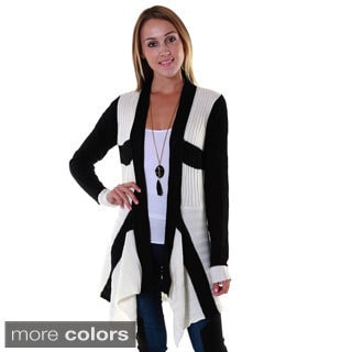 Hadari Women's Colorblocked Cardigan