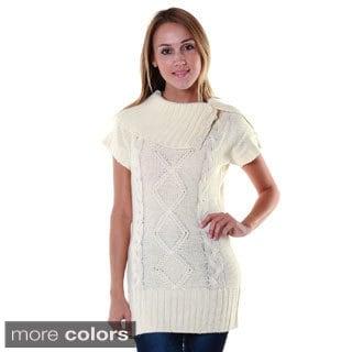 Hadari Women's Shawl Collar Tunic