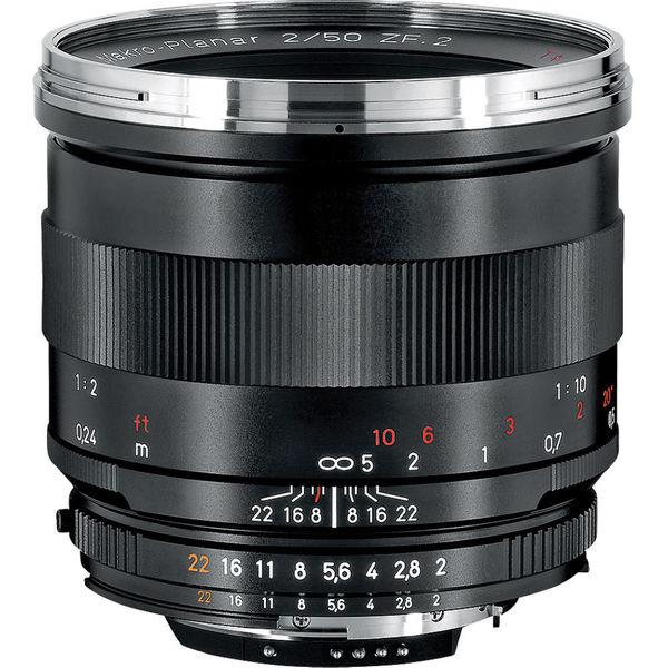 Zeiss Makro-Planar T* 50mm f/2 ZF.2 Lens for Nikon F-Mount Cameras
