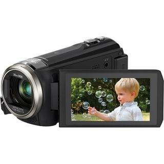 Panasonic HC-V550 Full HD Black Camcorder (Manufacturer Refurbished)