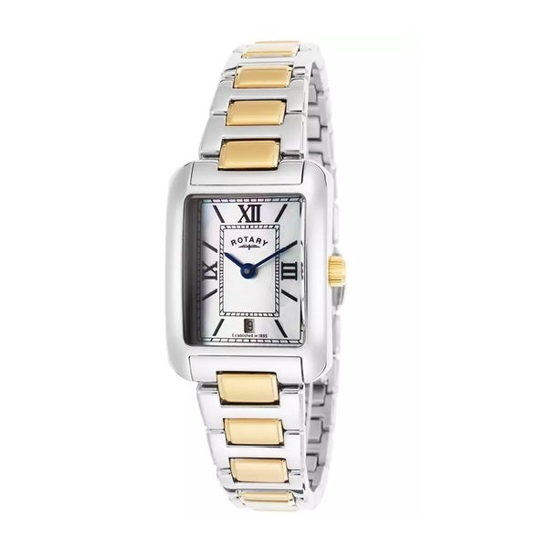 Rotary Women's ROTARY-LB02651-41 Classic White Mother of Pearl Watch