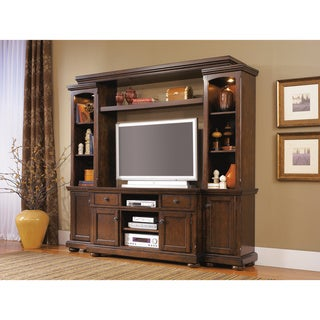 Signature Design by Ashley 'Porter' Rustic Brown Entertainment Center
