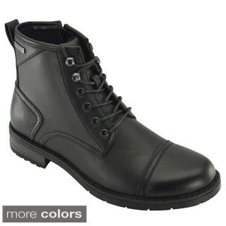 Rocawear Men's Cap Toe Military Boots