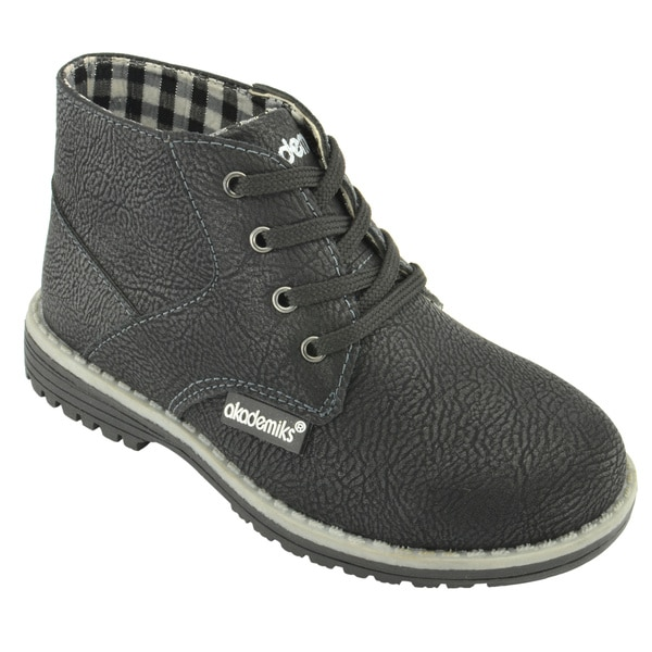 Akademiks Toddler Boys' Lace-Up Chukka Boots