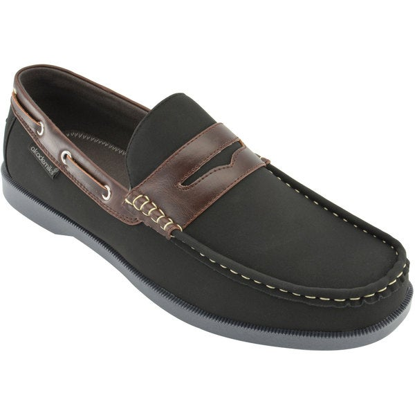 Akademiks Men's Slip-On Boat Shoes