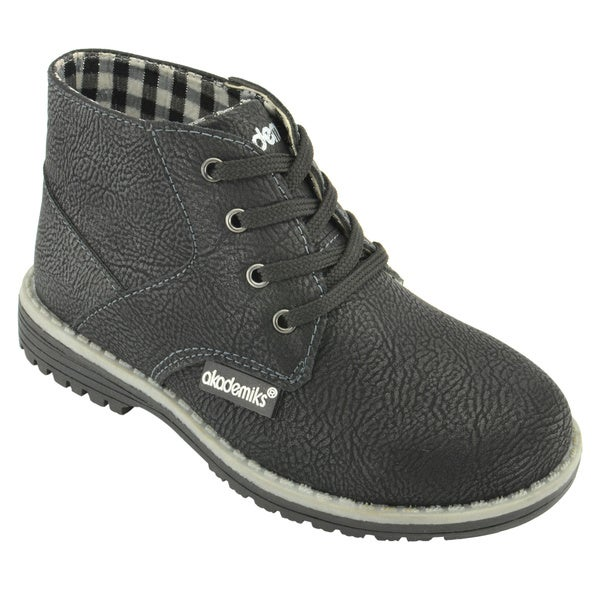 Akademiks Boys' Lace-Up Chukka Boots