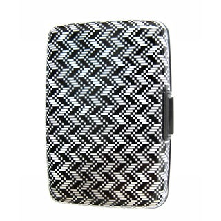 As Seen on TV Zig-zag Design Aluminum Wallet