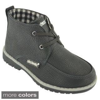 Akademiks Boys' Terry-02 Chukka Boots