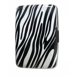 As Seen on TV Zebra Design Aluminum Wallet
