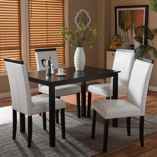 Baxton Studio Milano Cream/ Tan Modern 5-piece Dining Set