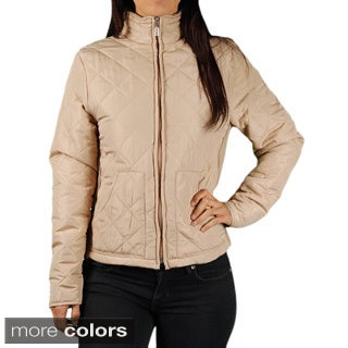 Jane Ashley Missy Quilted Fitted Jacket