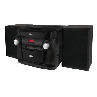 RCA Rs22363 3-CD AM/FM Mini Shelf Audio System (Refurbished)