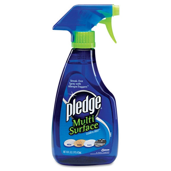 Pledge Multi-Surface Cleaner, Clean Citrus Scent, 16 ounce Trigger Bottle
