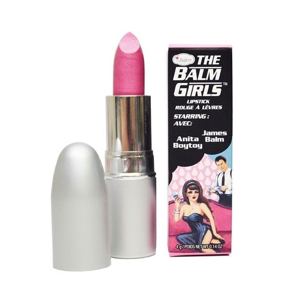 The Balm Anita Boytoy Cool Pink Frost Lipstick