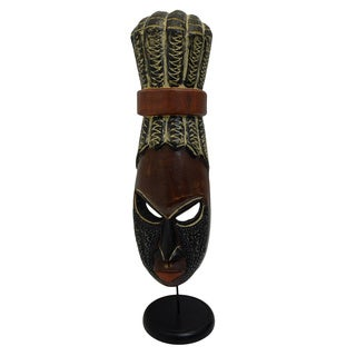 Hand-crafted Fante Coif Mask (Ghana)
