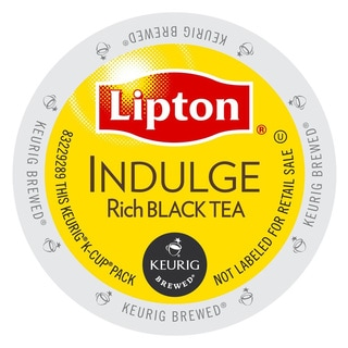Lipton Indulge Black Tea, K-Cup Portion Pack for Keurig Brewers (48 or 96 count)
