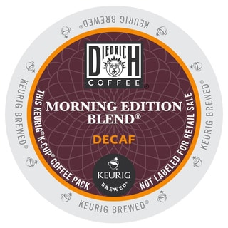 Diedrich Morning Edition Blend Decaf Coffee, K-Cup Portion Pack for Keurig Brewers
