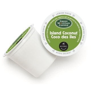 Green Mountain Coffee Island Coconut 96 K-Cup Portion Pack for Keurig Brewers
