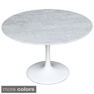 Flower 60-inch Marble Table