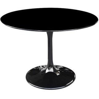 27-inch Black Flower Table