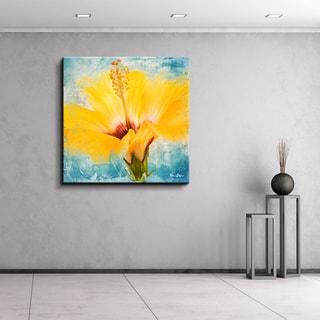 Ready2HangArt 'Painted Petals XVII' Floral Canvas Wall Art