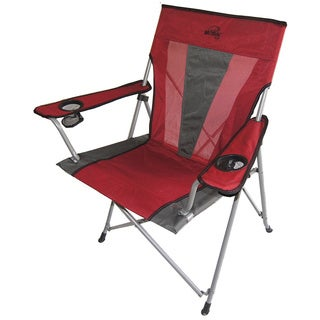 Portable Folding Red Outdoor Utility Chair