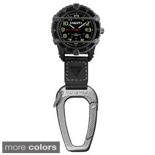 Dakota Men's Phase III Carabiner Clip Watch