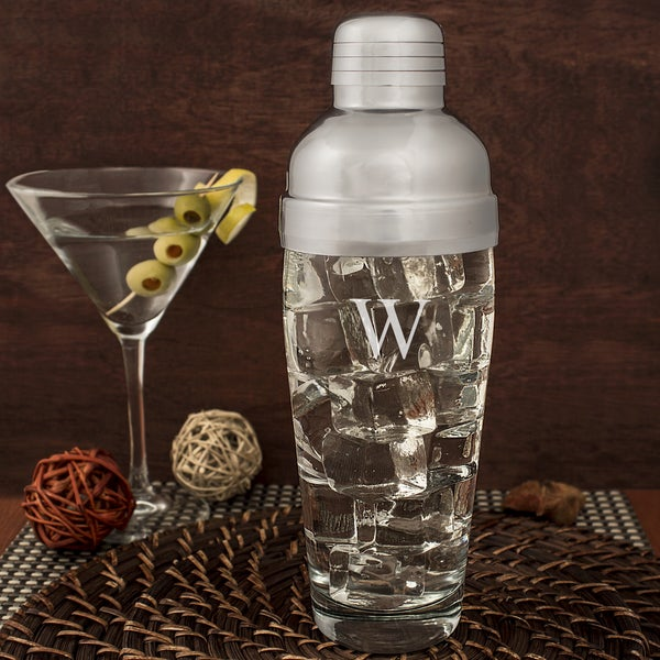 Personalized 20oz. Glass Cocktail Shaker