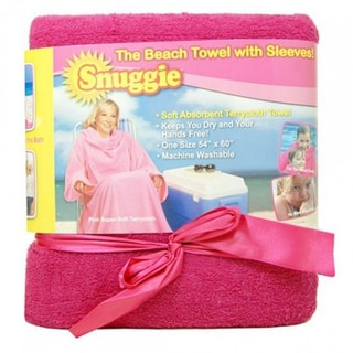 As Seen on TV Snuggie Beach Towel with Sleeves