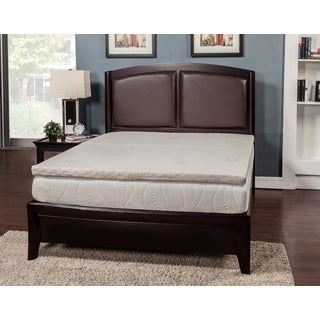 Temperature Balance 2-inch Queen-size Memory Foam Mattress Topper with Cover