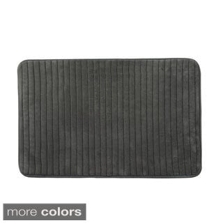 Reversible Memory Foam Bath Mat (Set of 2)
