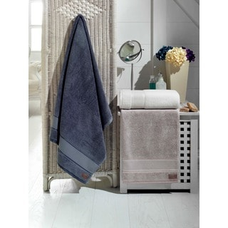 Roselle 100-percent Fine Turkish Cotton 3-piece Towel Set