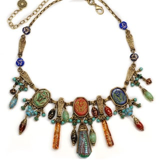Sweet Romance Egyptian Tut Vintage Collar Necklace