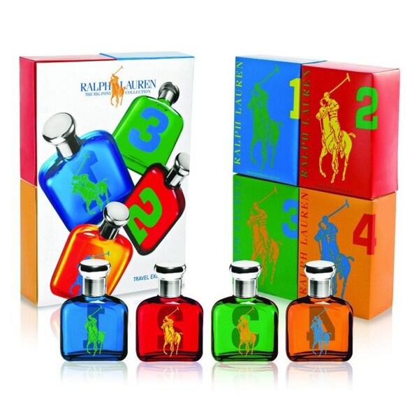 Ralph Lauren Polo Big Pony Collection Men's 4-piece Fragrance Set