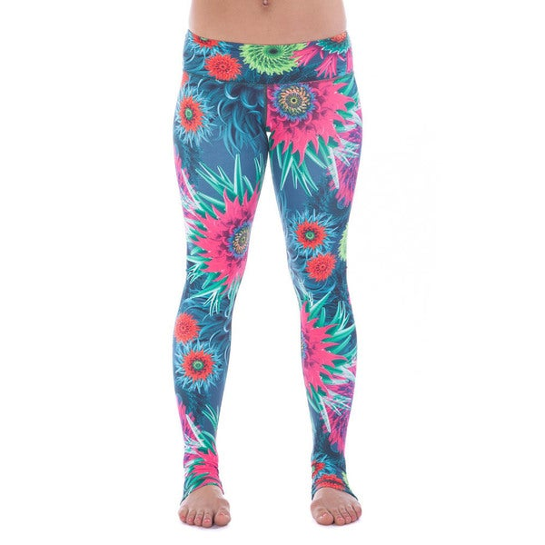 Just Live Women's 'Power Through' Compression Leggings/ Tights