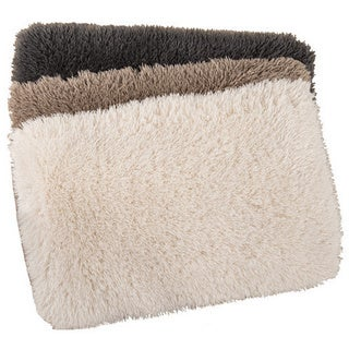 Shaggy Memory Foam Bath Mat (Set of 2)