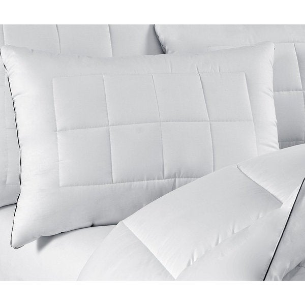 Maisn Luxe Ultimate Comfort & Support Luxury Stomach/Back Sleeper Pillows (Set of 2) (As Is Item)