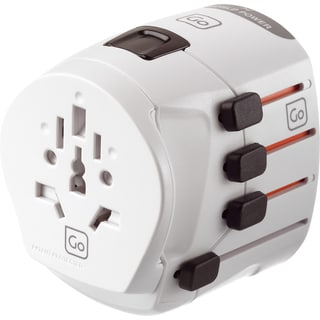 Go Travel Worldwide Earthed Adapter