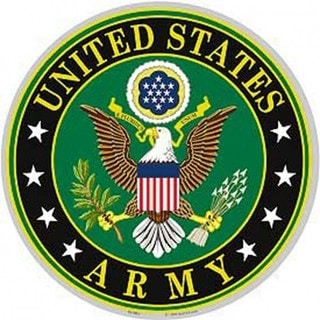 US Army Logo Aluminum Sign