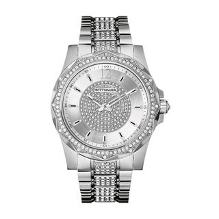 Wittnauer Men's WN3013 Stainless Steel and Crystal Watch