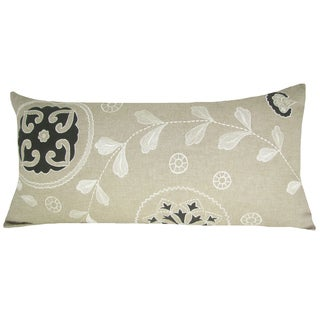 Alice Decorative Feather-Filled Throw Pillow