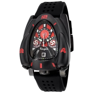 Rougois Men's Red and Black Rocket Watch