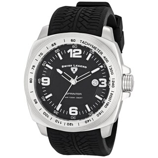 Swiss Legend Men's SL-21045-01 Sprinter Black Watch