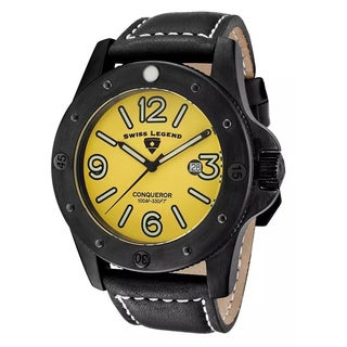 Swiss Legend Men's SL-20188-BB-07 Conqueror Yellow Watch