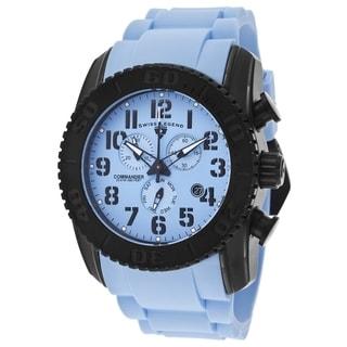 Swiss Legend Men's SL-11876-TIB-012 Commander Light Blue Watch