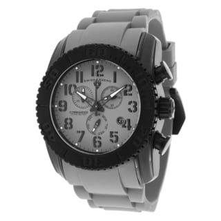 Swiss Legend Men's SL-11876-TIB-014 Commander Grey Watch